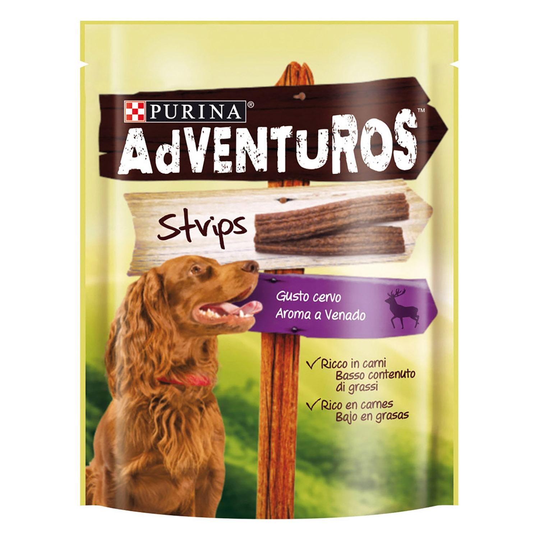 Purina Adventuros Snacks para Perros Strips 90g -