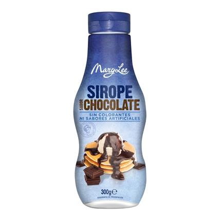 Sirope sabor chocolate Mary Lee 300 g.