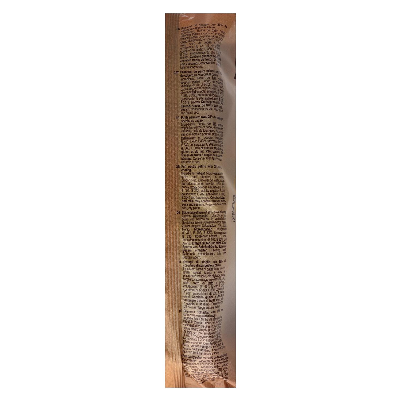 Palmeritas de cacao Montes Lara 240 g. - 2