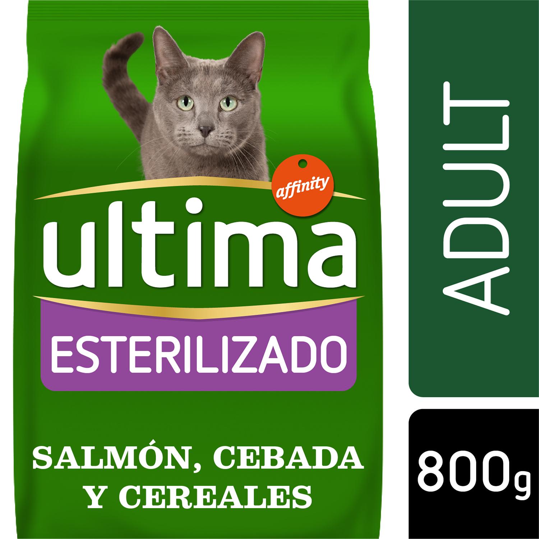 Alimento Gato Seco Adulto Esterilizado Salmon -