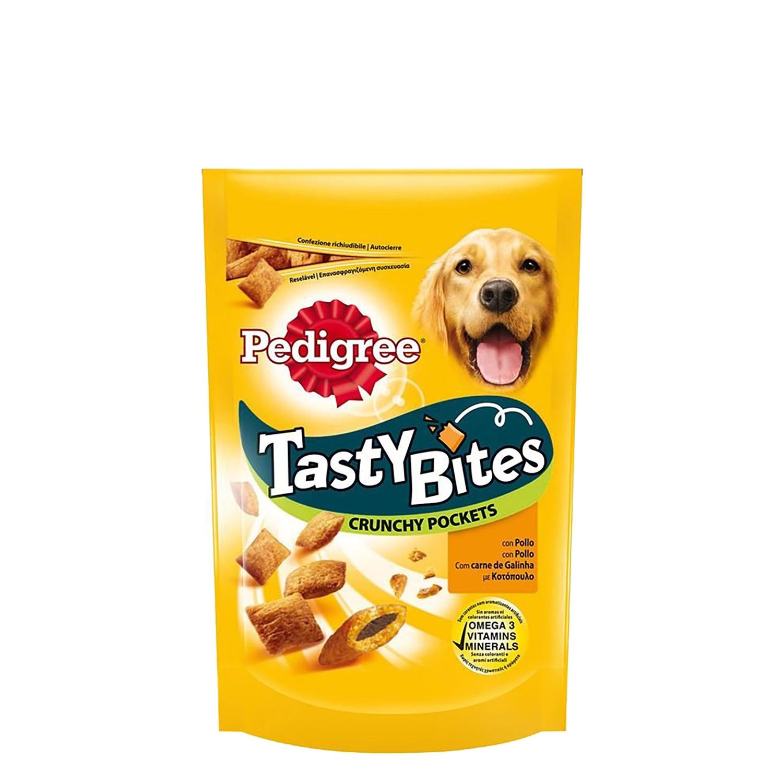 Snack para Perro Pedrigree Tasty Bites Chees Crujientes 95 GR -