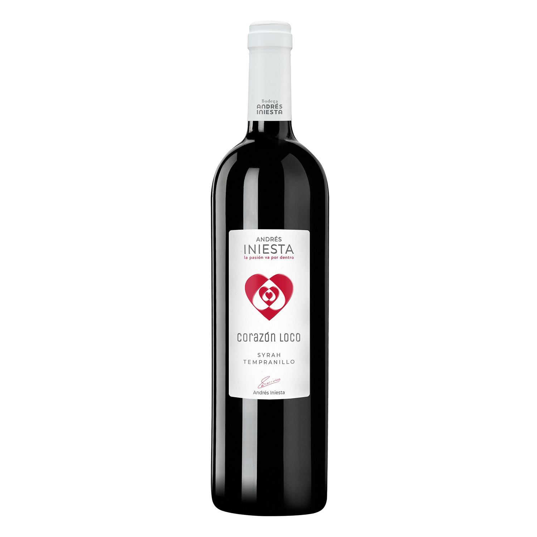 Vino D.O. Manchuela tinto Corazón Loco 75 cl.