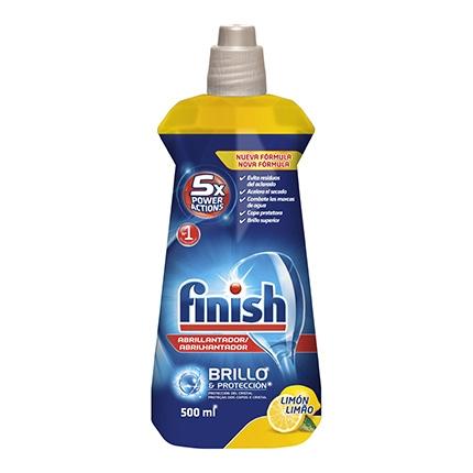 Abrillantador lavavajillas de limón