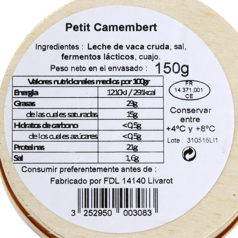 Queso Petit Camembert  - 2