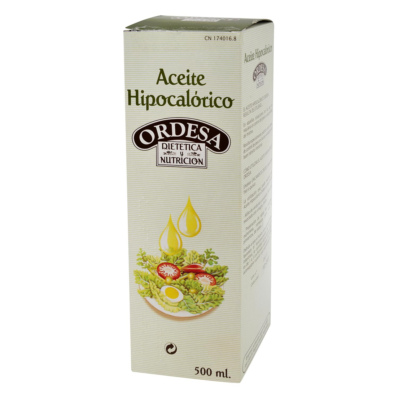 Aceite hipocalórico Dietetica y Nutrición Ordesa 500 ml.