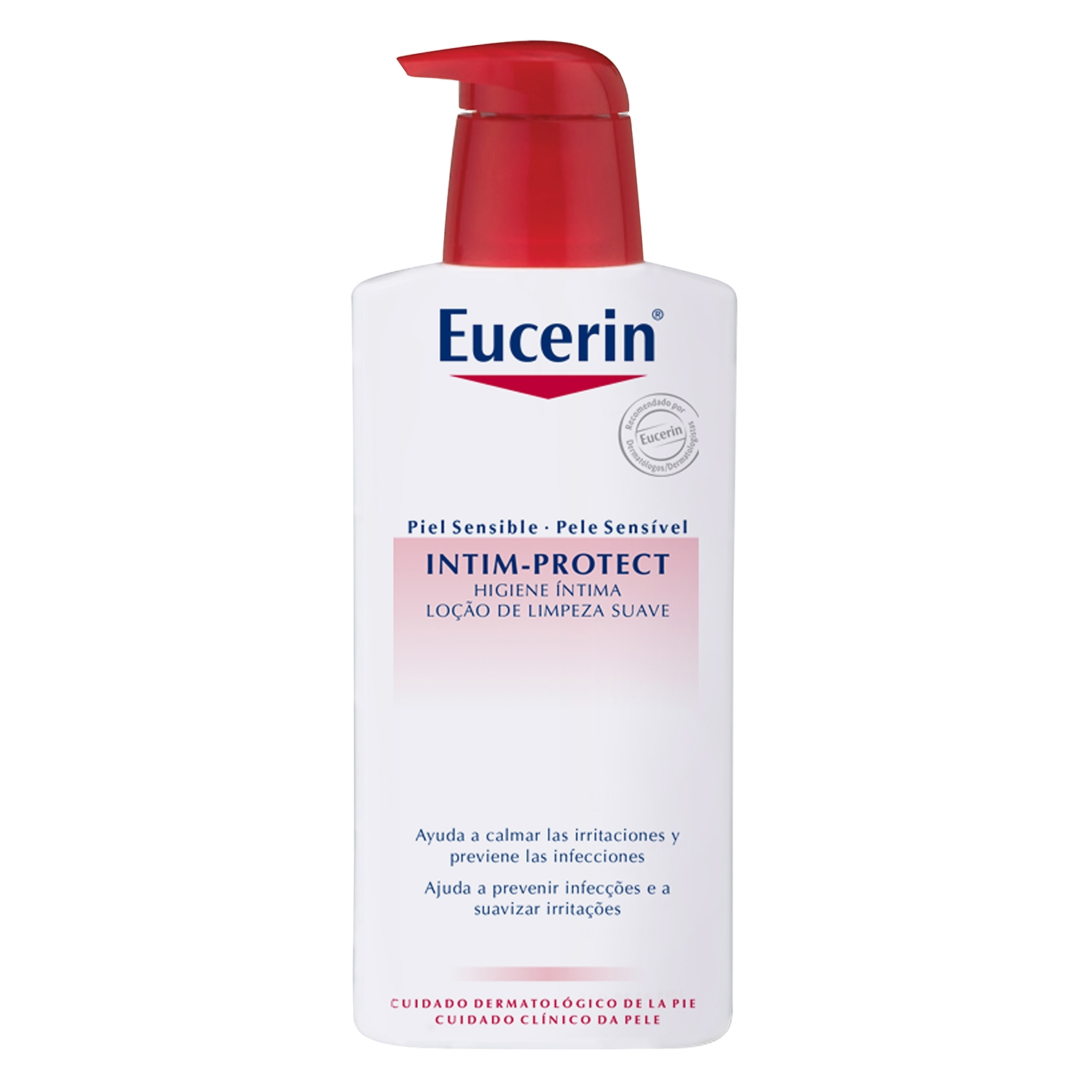 Gel íntimo pH5 para piel sensible Eucerin 400 ml.