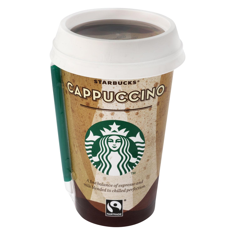 Café cappuccino Starbucks 220 ml.