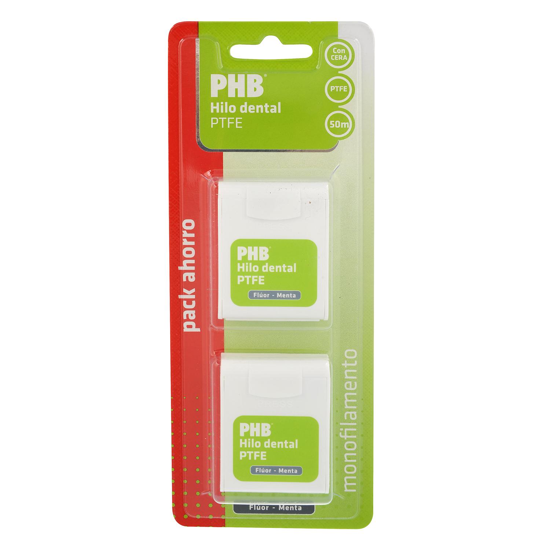 Hilo dental PTFE fluor-menta Phb 2 ud.