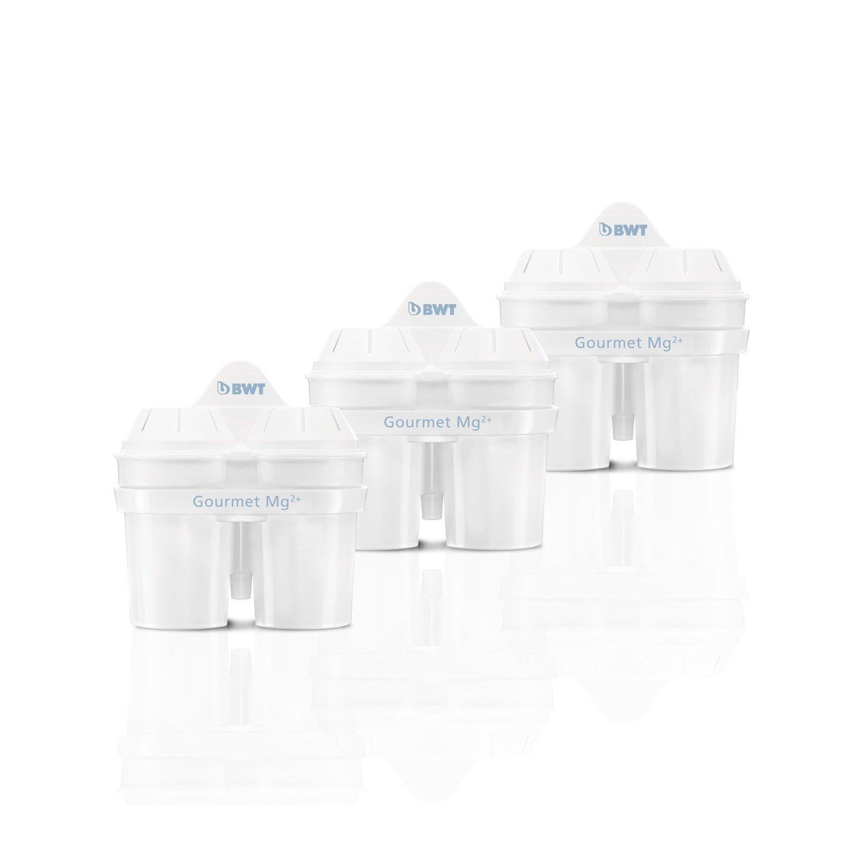 Set 2+1 Filtros de agua con Micropartículas BWT Initium  - Blancos -