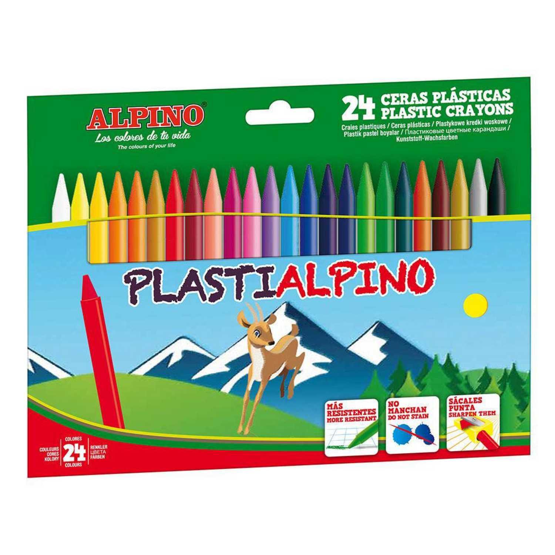 Ceras Plásticas Plastialpino Surtidos 24 uds