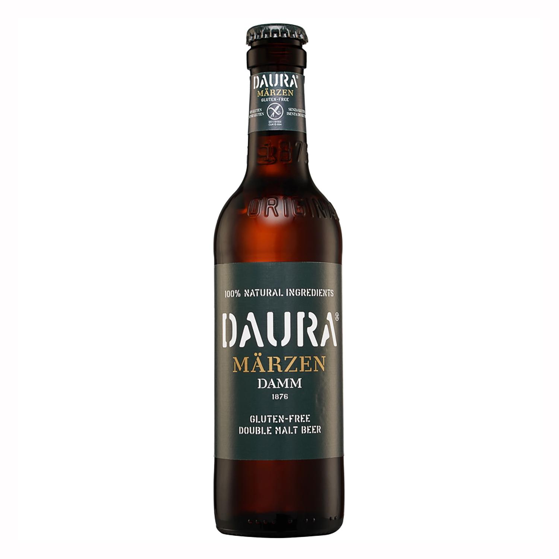 Cerveza Daura Marzen Lager sin gluten botella 33 cl.