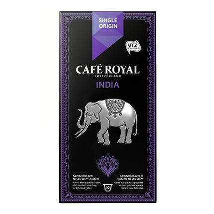 Café India en cápsulas compatible con Nespresso