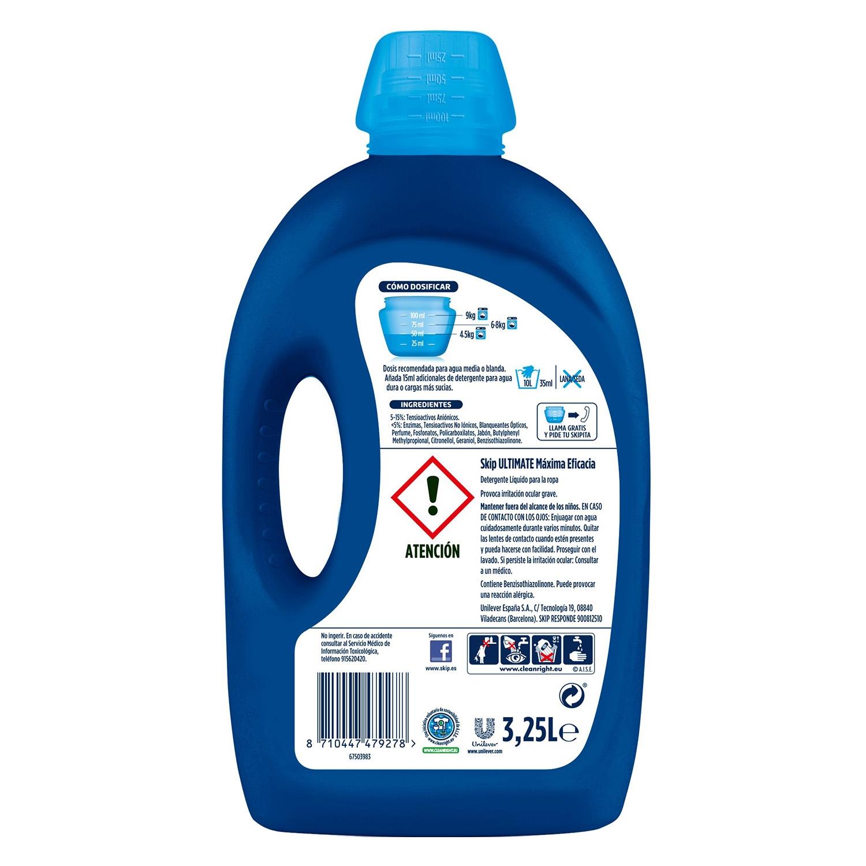Detergente líquido Ultimate -