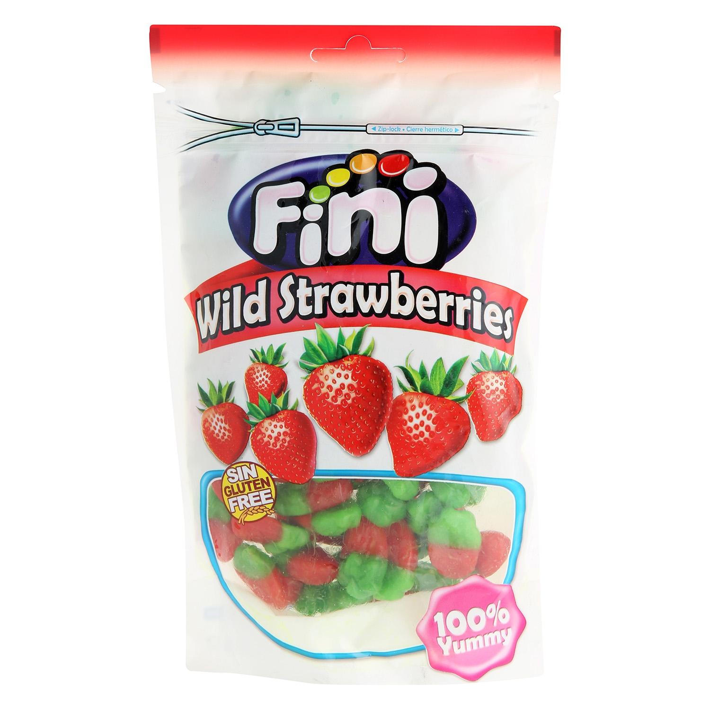 Caramelos de goma fresas salvajes