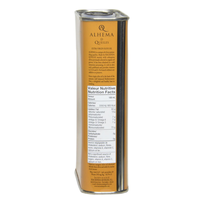 Aceite de oliva virgen extra Alhema de Queiles lata 500 ml. - 2