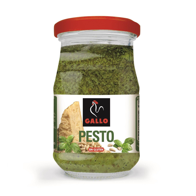 Salsa pesto Gallo sin gluten tarro 190 g.