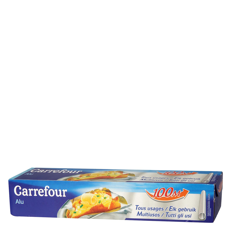 Papel de aluminio 100 m Carrefour - Carrefour supermercado compra online