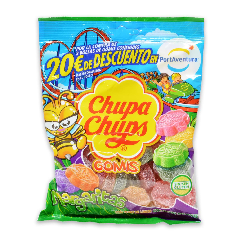 Caramelos de goma Margaritas Chupa Chups sin gluten 175 g.