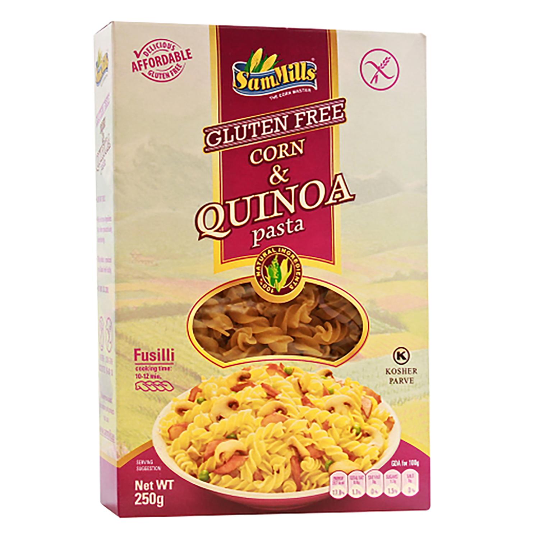 Espirales de quinoa SamMills sin gluten 250 g.