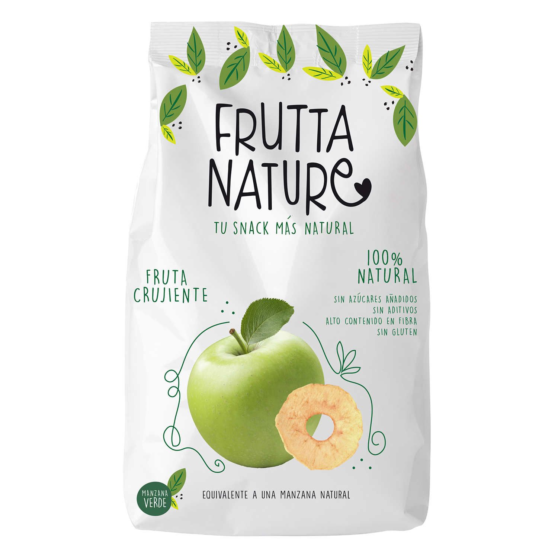 Snacks manzana verde Fruut sin gluten 60 g.