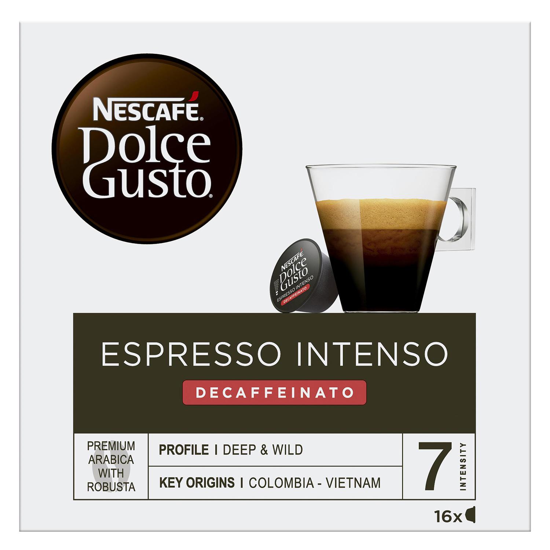 Café espresso intenso descafeinado en cápsulas Nescafé Dolce Gusto 16 unidades de 7 g. - 2