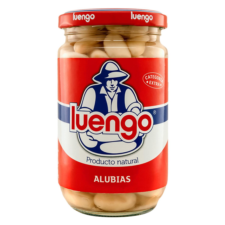 Alubia cocida Luengo categoría extra 200 g.