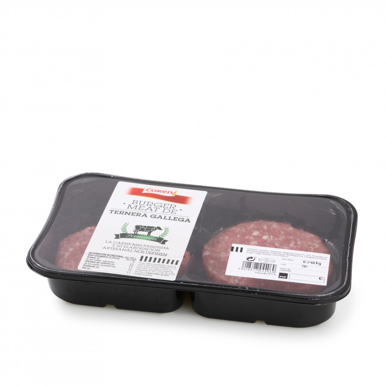 Hamburguesa de Ternera Gallega Burger Meat Nova Frigsa 400 g