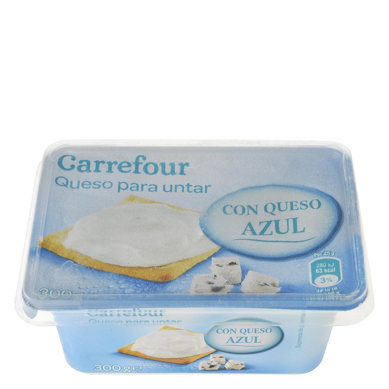 Queso de untar azul Carrefour 300 g.