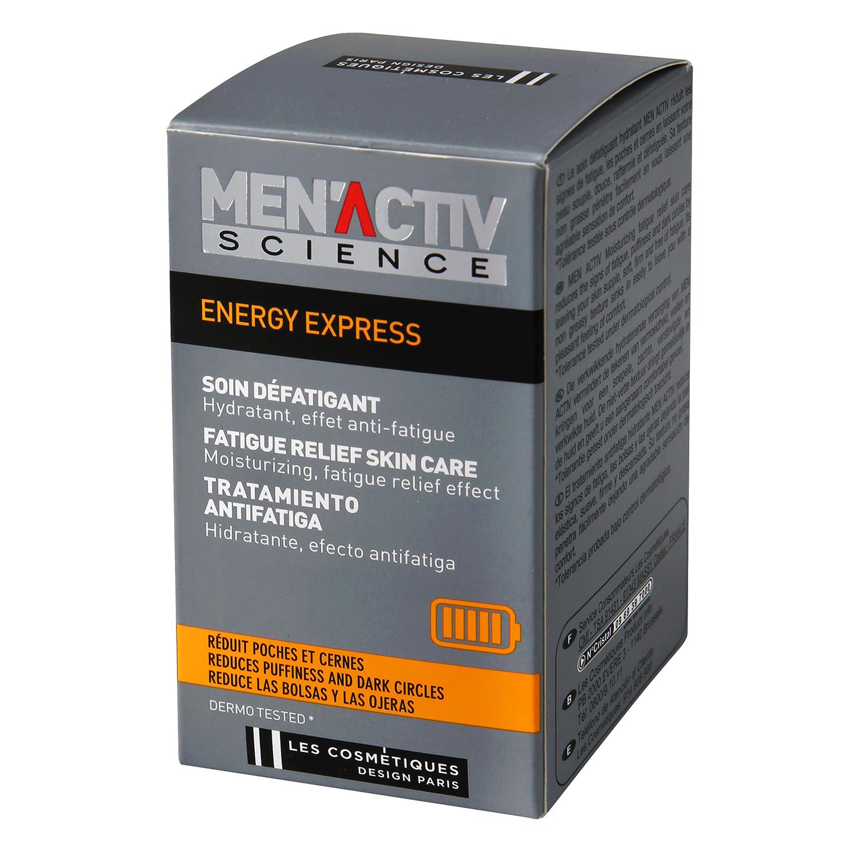 Tratamiento antifatiga hidratante Men'Activ Science