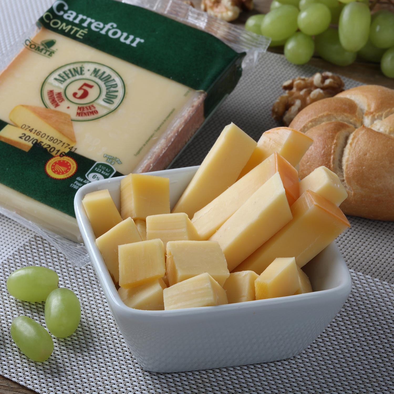 Queso comté D.O.P. 5 meses curación Carrefour cuña 250 g