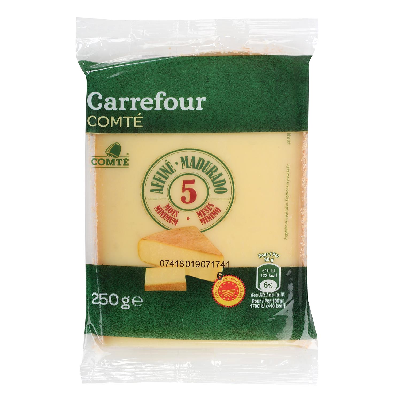 Queso comté D.O.P. 5 meses curación Carrefour cuña 250 g - 2