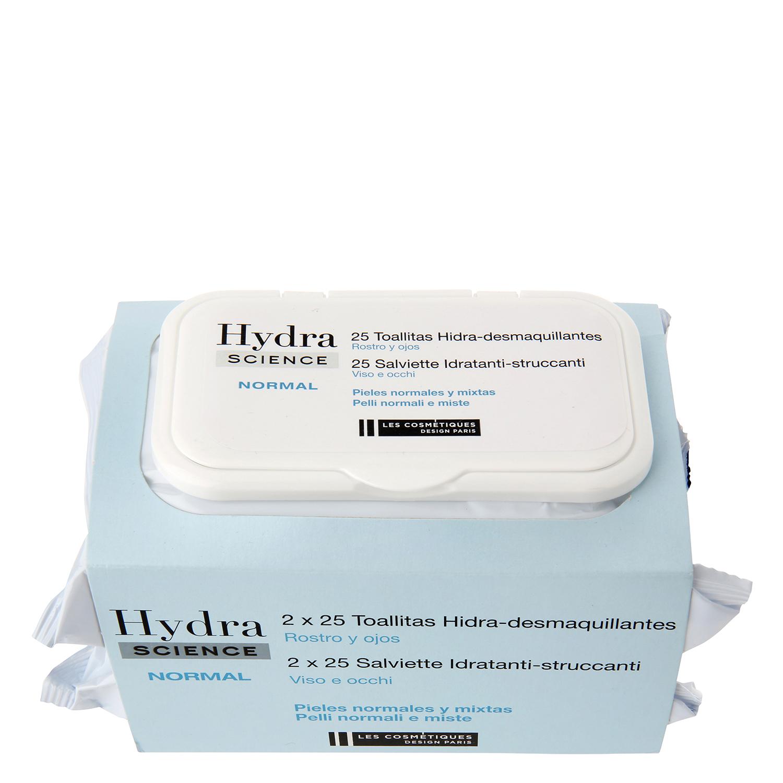 Toallitas Hidra-desmaquillantes para pieles normales y mixtas