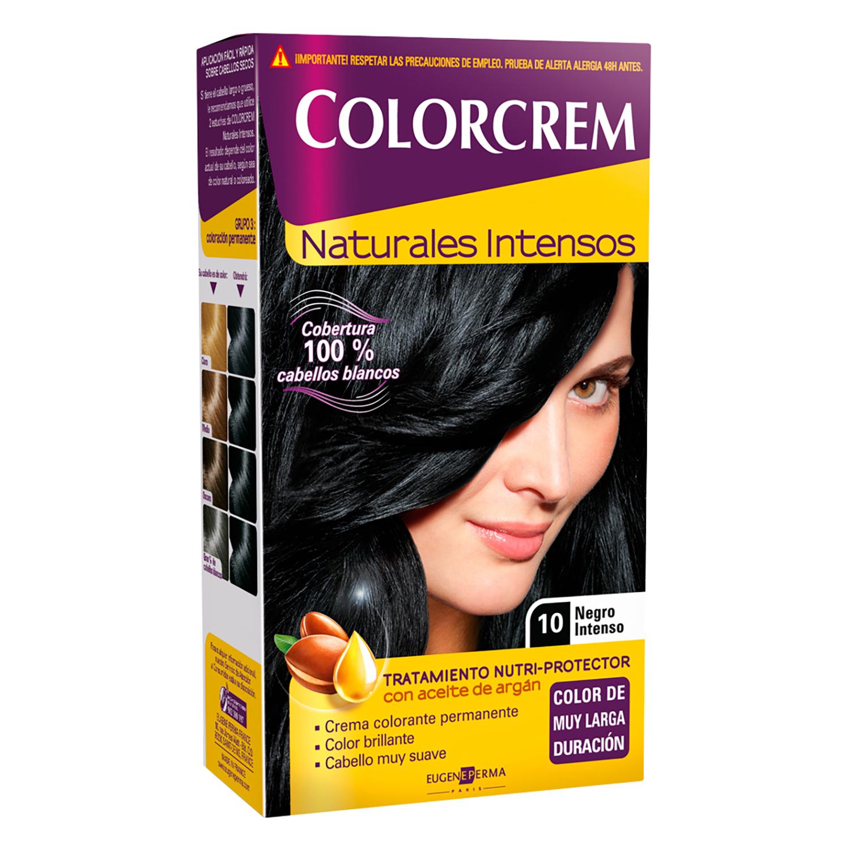 Tinte Nº 10 negro intenso para cabellos blancos