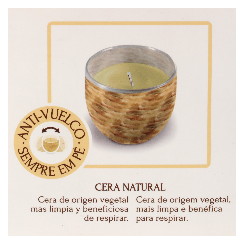 Vaso aromático decorativo vainilla - 2