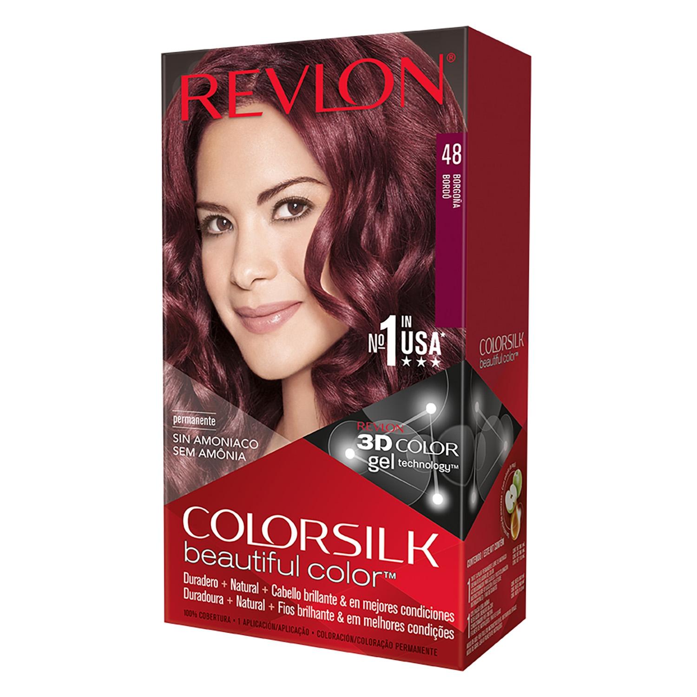 Tinte Colorsilk nº 48 Borgoña