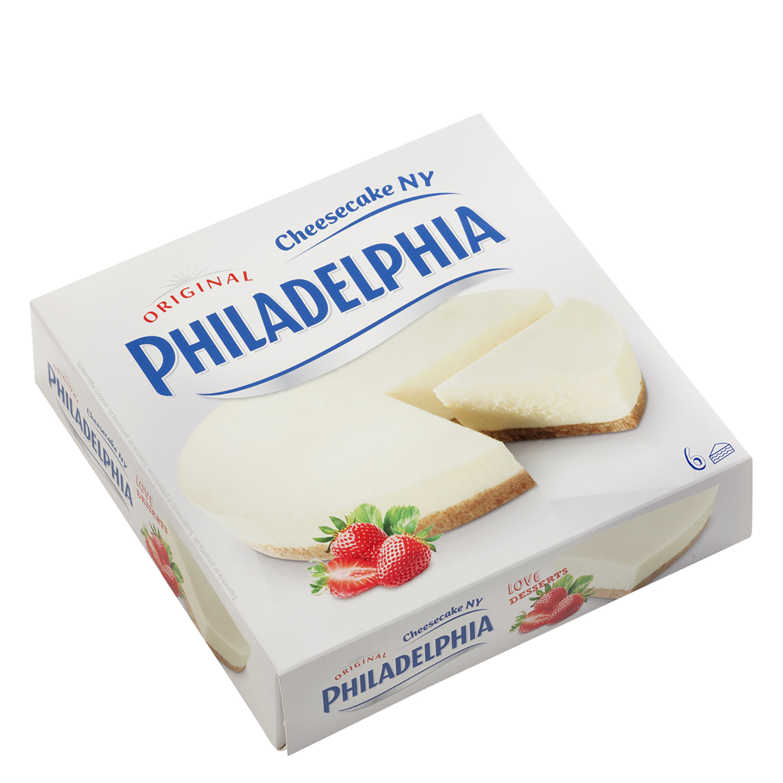 Tarta cheesecake Philadelphia 350 g.