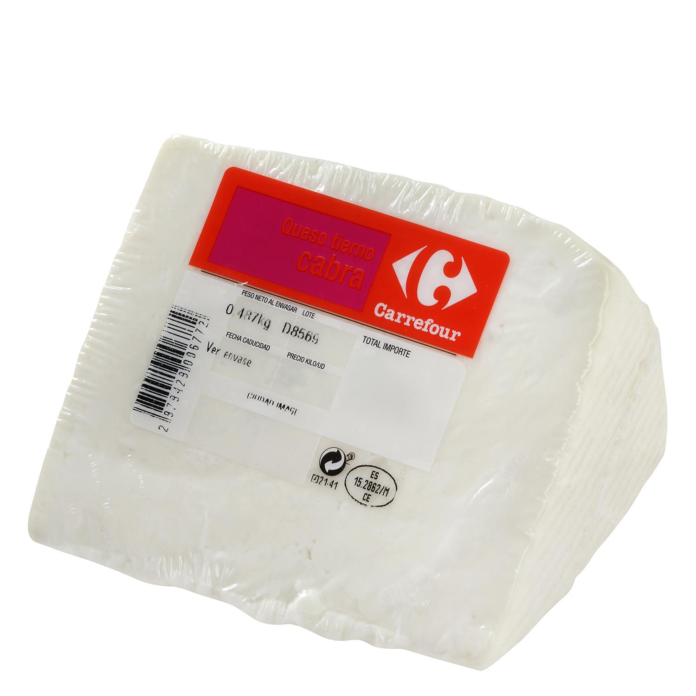 Queso de cabra tierno Carrefour 480 g aprox