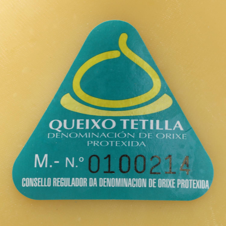 Queso Gallego D.O.P. Tetilla De Nuestra Tierra pieza 550 g -