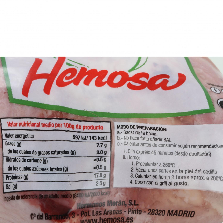 Codillo de Cerdo en Salmuera Hermanos Morán 500 g aprox - 3