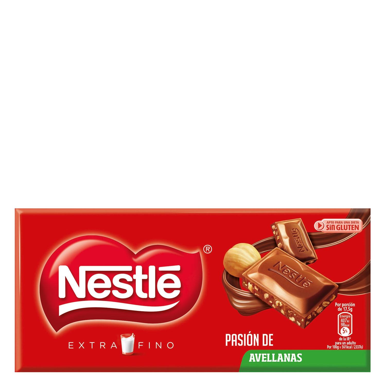 Chocolate con avellanas extrafino - Sin gluten
