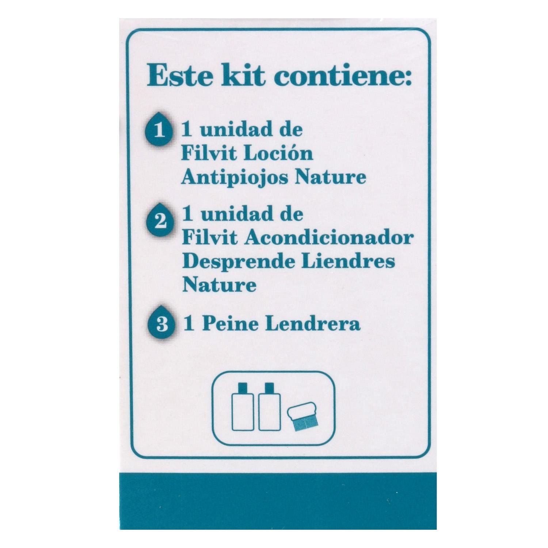 Tratamiento natural antipiojos y liendres Filvit 1 ud. - 2