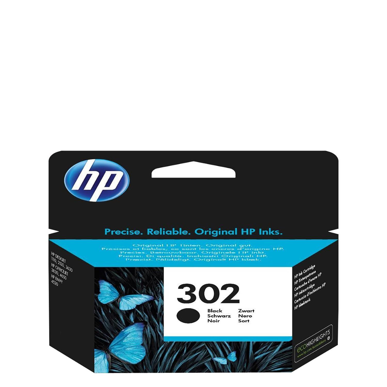 Cartucho de Tinta HP 302 - Negro