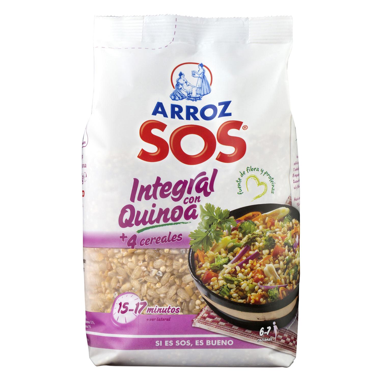 Arroz Sos con quinoa y cereales 500 g.
