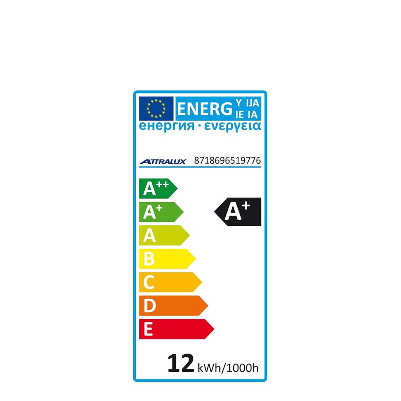 Bombilla LED Estándar 12W = 75W E27 Attralux -