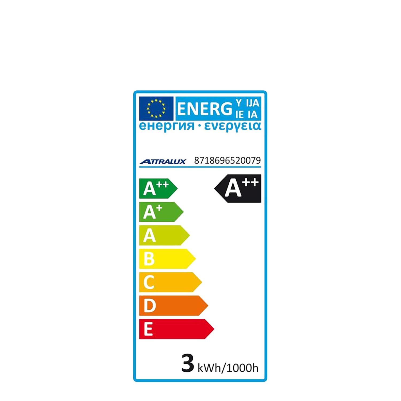 Pack de Bombillas LED Smd Aluminio Spotlight 6w Luz Cálida -