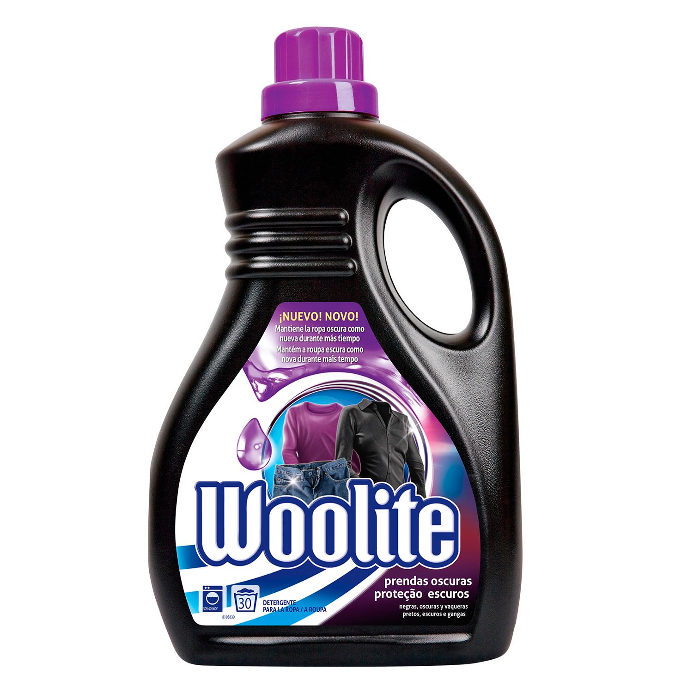 Detergente líquido para prendas oscuras