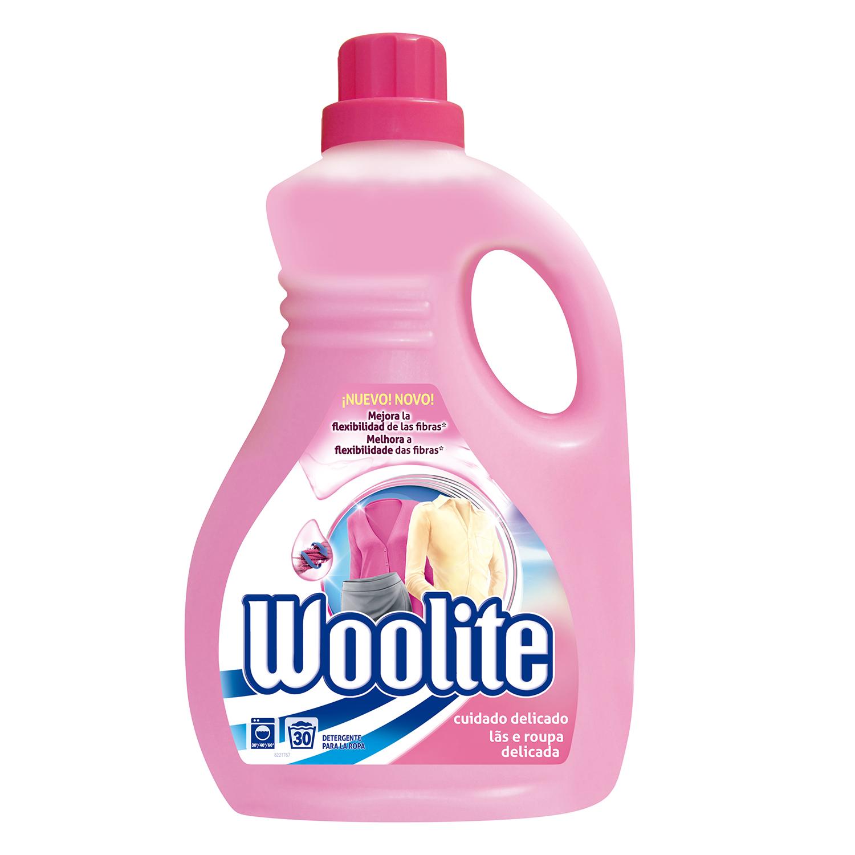 Detergente para cuidado delicado líquido Woolite 1,9 l.