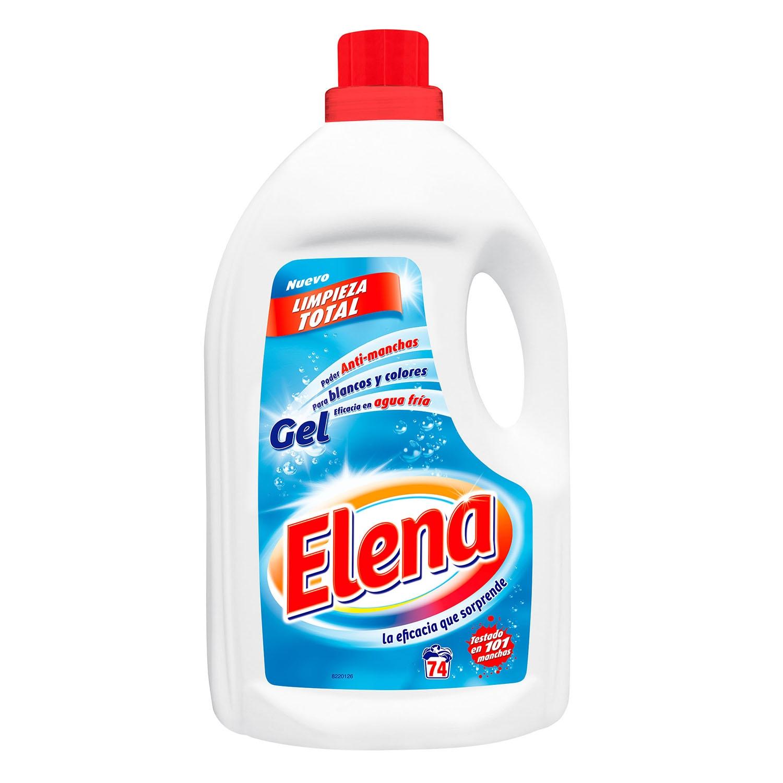 Detergente líquido gel