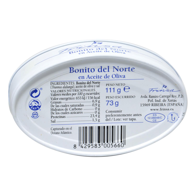 Bonito del norte en aceite de oliva - 2