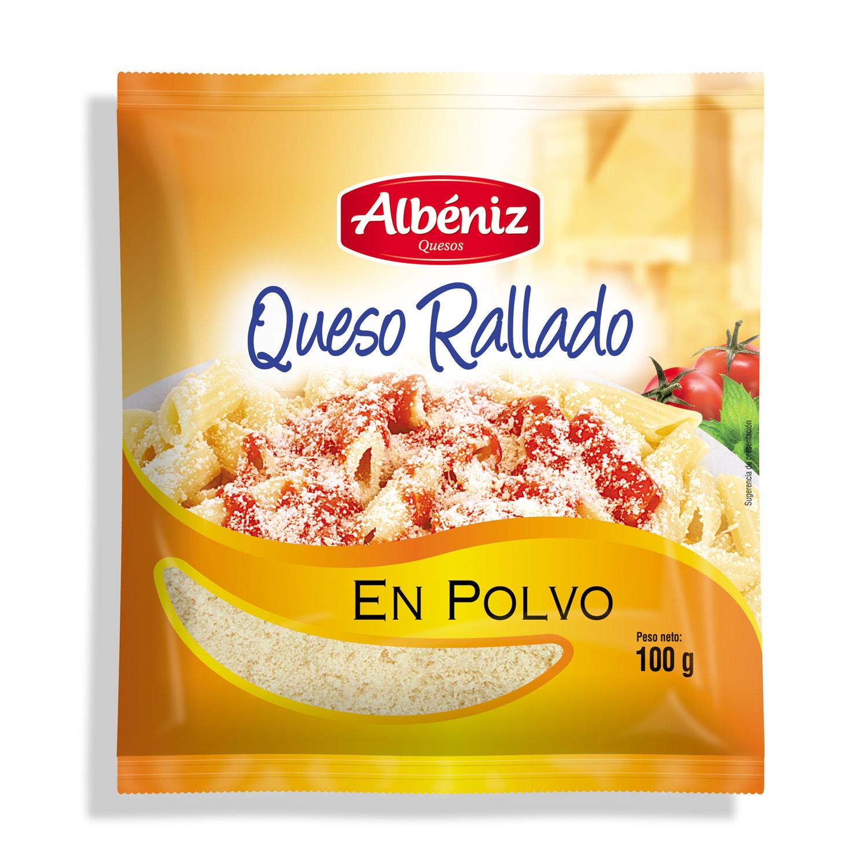 Queso rallado en polvo Albeniz 100 g.